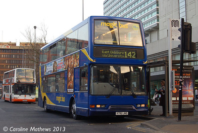Stagecoach 17649 (X792JHG), Manchester,  2nd March 2013