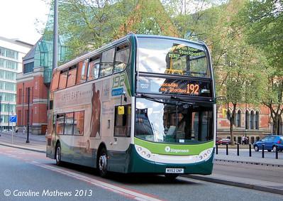 Stagecoach 12196 (MX62GNP), Manchester, 8th June 2013