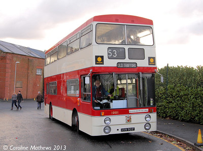 Manchester 1001 (HVM901F), Boyle Street, 7th December 2013