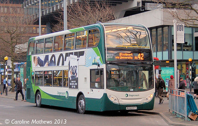 Stagecoach 12055 (MX60BVY), Manchester,  2nd March 2013
