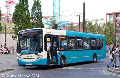 Arriva North West 2743 (GX58EVR),  Manchester, 8th June 2013