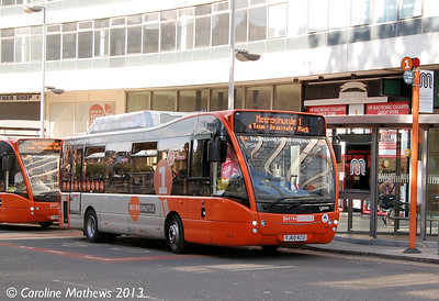 FIrst 49101 (YJ60CKU), Piccadilly Station, Manchester, 8th June 2013
