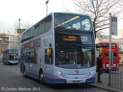 First 33721 (SN12AKO), Manchester,  2nd March 2013