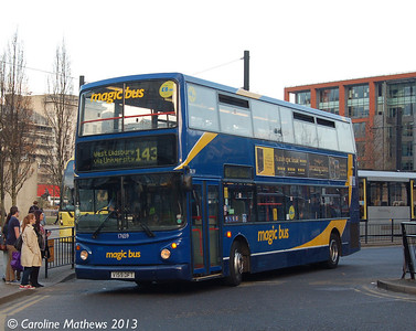 Stagecoach 17659 (V159*DFT), Manchester,  2nd March 2013