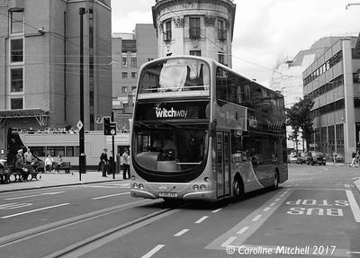 Burnley Bus Company 2753 (PJ05ZVZ), Princess Street, Manchester, 3rd June 2017
