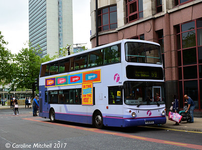 FIrst 30955 (YJ51RCU), Lever Street, Manchester, 3rd June 2017