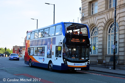 Stagecoach 10852 (SN17MJV), Corporation Street, Manchester, 2nd September 2017