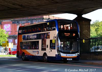 Stagecoach 10855 (SN17MKA), Fairfield Street, Manchester, 2nd September 2017