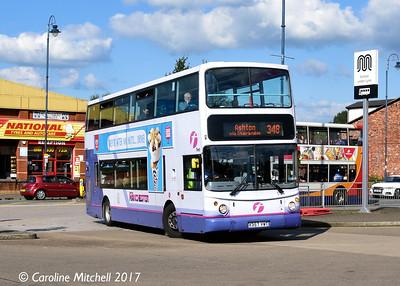 FIrst 30936 (X357VWT), Ashton, Bus Station 2nd September 2017