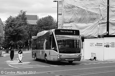FIrst 49101 (YJ60KCU), Todd Street, Manchester, 3rd June 2017