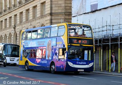 Stagecoach 19267 (MX08GOU), Corporation Street, Manchester, 2nd September 2017