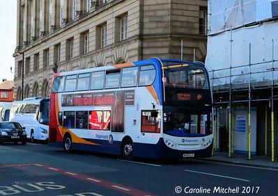 Stagecoach 19630 (MX59KJA), Corporation Street, Manchester, 2nd September 2017