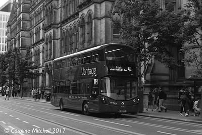 FIrst 39426 (BL65YZJ), Princess Street, Manchester, 3rd June 2017