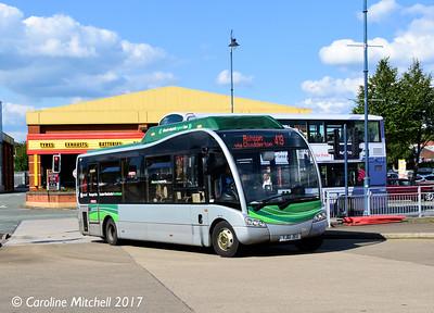 Manchester Community Transport YJ61JEU, Ashton Bus Station, 2nd September 2017