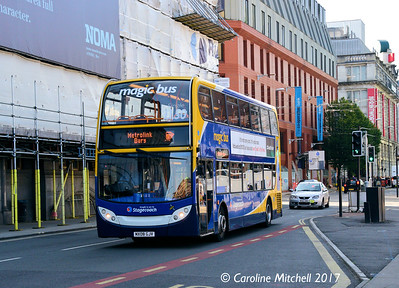 Stagecoach 19221 (MX08GJV), Corporation Street, Manchester, 2nd September 2017