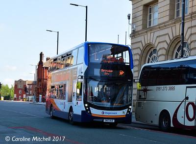 Stagecoach 10846 (SN17MJE), Corporation Street, Manchester, 2nd September 2017