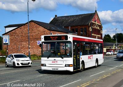 Manchester Community Transport EU06KNR, Wellington Road, Ashton, 2nd September 2017