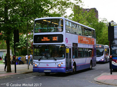 FIrst 30915 (X779VUA), Piccadilly, Manchester, 3rd June 2017