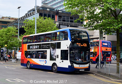 Stagecoach 10480 (SN65OBP), Piccadilly Gardens, Manchester, 3rd June 2017
