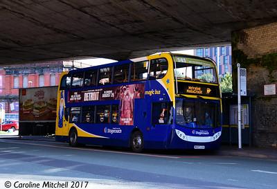 Stagecoach 19179 (MX57LCA), Fairfield Street, Manchester, 2nd September 2017