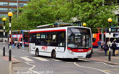 Manchester Community Transport YX60DYB, Piccadilly Gardens, Manchester, 3rd June 2017