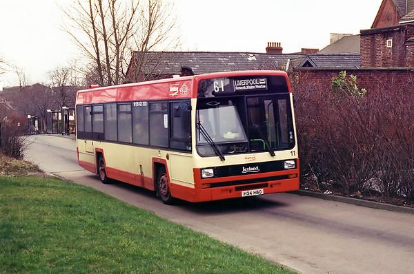 11 H34HBG, Runcorn 28/2/1995
