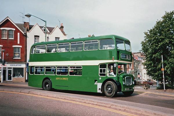 1557 KRU224F, Bournemouth 7/7/1991
