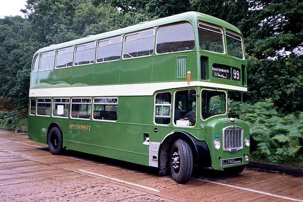 Hants & Dorset 1540 GLJ748D, Bournemouth 7/7/1991