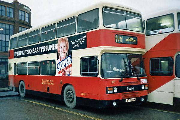 317 B517UWW, Leeds 2/2/1991