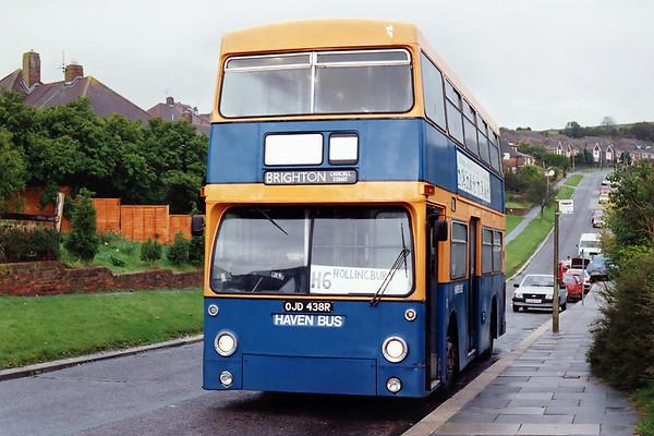 OJD438R, Hollingbury 13/10/1993