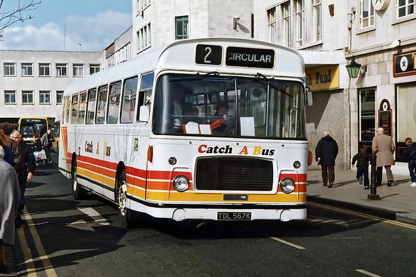 TDL567K, South Shields 21/3/1992