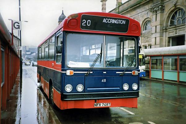 48 NFR748T, Accrington 20/3/1991