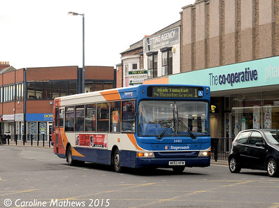 Stagecoach 34401 (NK53KFW), York Road, Hartlepool, 16th May 2015
