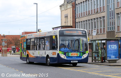 Stagecoach 27173 (SN64OJY), Victoria Road, Hartlepool, 16th May 2015