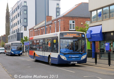 Stagecoach 39667 (NJ08CTF), York Road, Hartlepool, 16th May 2015