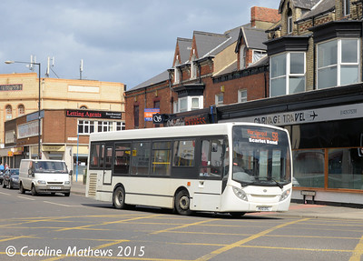 Scarlet Band MX10DXL, York Road, Hartlepool, 16th May 2015