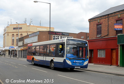 Stagecoach 39662 (NJ08CSV), York Road, Hartlepool, 16th May 2015