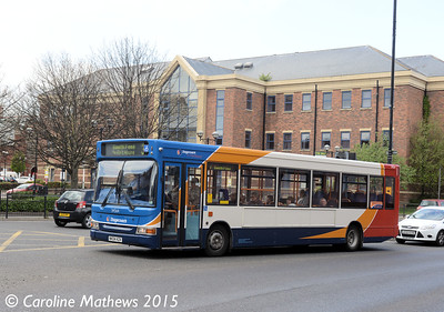Stagecoach 34564 (NK04KZX), Stockton Street, Hartlepool, 16th May 2015