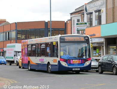 Stagecoach 27181 (SN64OKG), York Road, Hartlepool, 16th May 2015