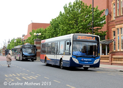 Stagecoach 39668 (NJ08CTK), Victoria Road, Hartlepool, 16th May 2015