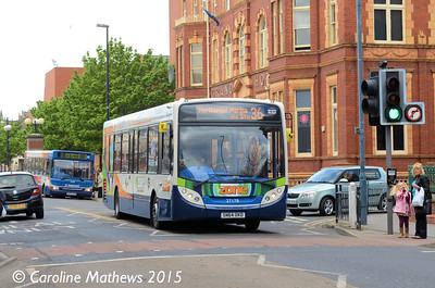 Stagecoach 27178 (SN64OKD), Hartlepool, 16th May 2015