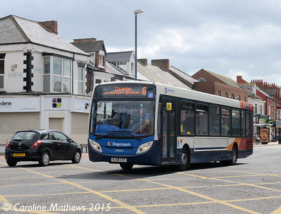 Stagecoach 39664 (NJ08CSY), York Road, Hartlepool, 16th May 2015