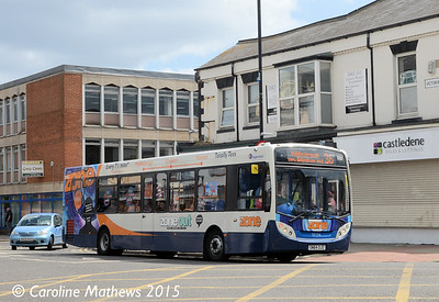 Stagecoach 27174 (SN64OJZ), Victoria Road, Hartlepool, 16th May 2015