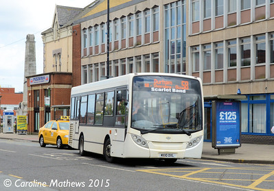 Scarlet Band MX10DXL, Victoria Road Hartlepool, 16th May 2015