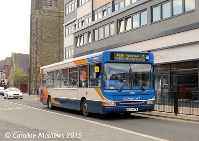 Stagecoach 34563 (NK04KZW), Hartlepool, 16th May 2015