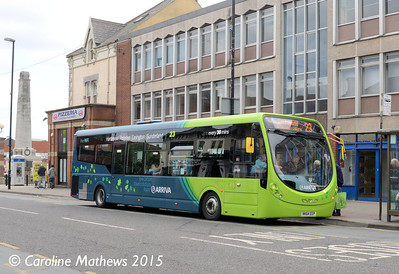 Arriva North East 1578 (NK64EEP), Victoria Road, Hartlepool, 16th May 2015