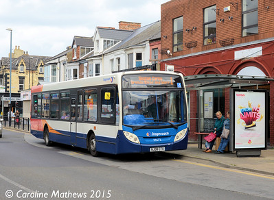 Stagecoach 39672 (NJ08CTX), York Road, Hartlepool, 16th May 2015