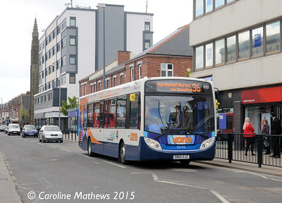 Stagecoach 27174 (SN64OJZ), York Road, Hartlepool, 16th May 2015