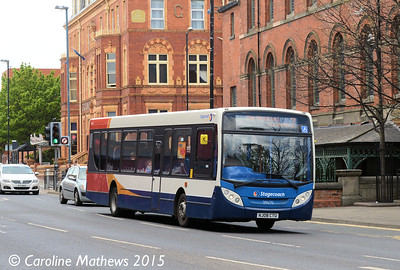 Stagecoach 39670 (NJ08CTU), Victoria Road, Hartlepool, 16th May 2015