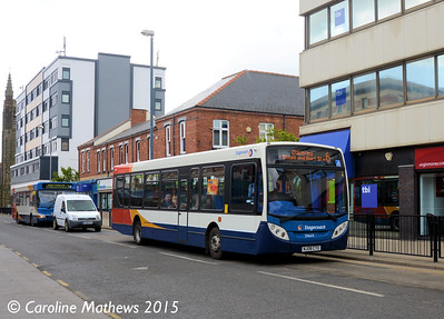 Stagecoach 39669 (NJ08CTO), York Road, Hartlepool, 16th May 2015